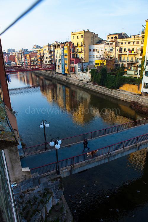 Pont de Sant Agustí, Girona, Catalonia, Spain