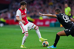 13-08-2019 NED: UEFA Champions League AFC Ajax - Paok Saloniki, Amsterdam<br />  Ajax won 3-2 and they will meet APOEL in the battle for a group stage spot / Nicolás Tagliafico #31 of Ajax