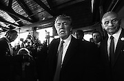 Republican presidential candidate Donald Trump holds a town meeting at the Atkinson Country Club in Atkinson, N.H., Monday, Oct. 26, 2015.  (AP Photo/Cheryl Senter)