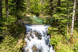 Well of Kamniska Bistrica river near Predaselj gorge, on May 2, 2018 in Kamnik, Slovenia. Photo by Matic Klansek Velej / Sportida