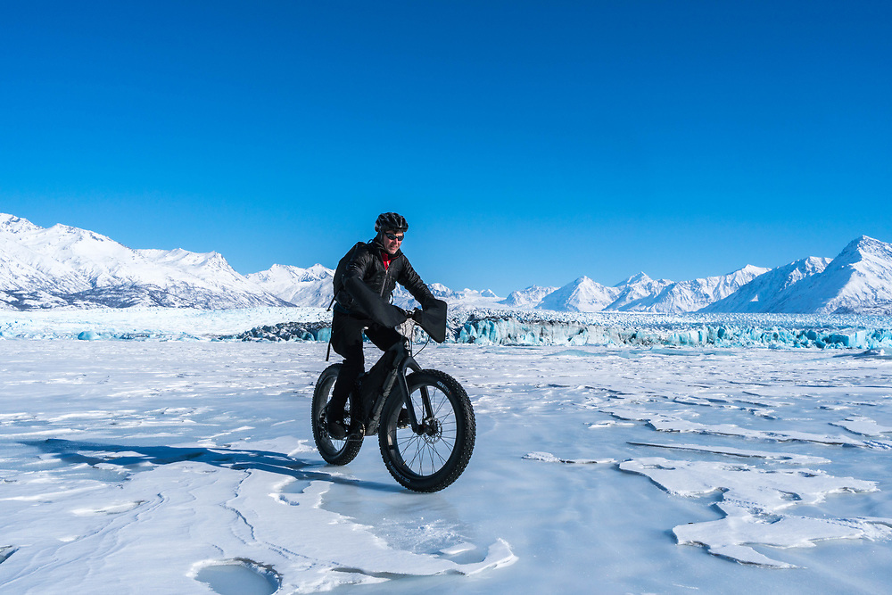 Fatbike Knik Glacier 2017-03-17