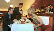 Portillo.3.Nicola Fornby & Michael Portillo. St. Martin's Hotel. 9/9/99<br />