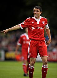 Mark van Bommel (Bayern München) FC Magdeburg v FC Bayern München in Magdeburg,  25th May 2009.