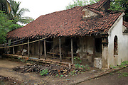 Old House. Village by the sea. Murthy Pudikuppam. <br /> Tamil Nadu. South India.