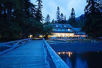 Lake Crescent Lodge, Lake Crescent, Olympic National Park, WA.