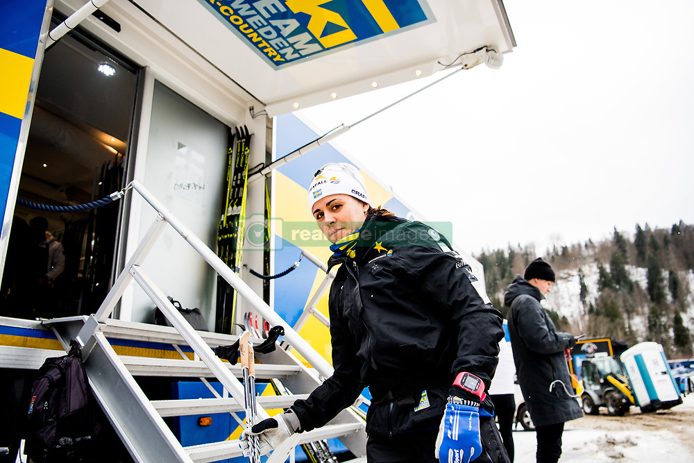 January 2, 2018 - Oberstdorf, GERMANY - 180102 Anna Haag of Sweden ahead of a training session during Tour de Ski on January 2, 2018 in Oberstdorf..Photo: Jon Olav Nesvold / BILDBYRN / kod JE / 160117 (Credit Image: © Jon Olav Nesvold/Bildbyran via ZUMA Wire)