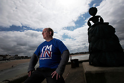 UK ENGLAND MARGATE 14MAY16 -Vote Remain campaign volunteer Richard Benzie poses for a photo in Margate, Kent, England.<br /> <br /> jre/Photo by Jiri Rezac<br /> <br /> © Jiri Rezac 2016