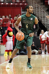 05 December 2015: Robert Brown. Illinois State Redbirds host the University of Alabama - Birmingham Blazers at Redbird Arena in Normal Illinois (Photo by Alan Look)