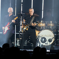 Glasgow, Scotland, UK. 11th Ferry 2019. Tears For Fears 0 Roland Orzabal and Curt Smith play their rescheduled show at The SSE Hydro, Glasgow Great, UK. Credit: Stuart Westwood/Alamy Live News