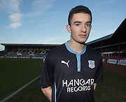 Dundee new boy Alex Harris, who has joined the club on loan from Hibernian - <br /> <br />  - &copy; David Young - www.davidyoungphoto.co.uk - email: davidyoungphoto@gmail.com