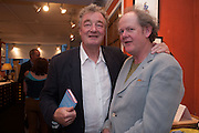 CHRISTOPHER SIMON SYKES; CRAIG BROWN, Elliott and Thompson host a book launch of How the Queen can Make you Happy by Mary Killen.- Book launch. The O' Shea Gallery. St. James's St. London. 20 June 2012.