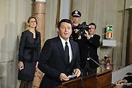 20140221 - Governo Renzi presentazione lista dei Ministri Quirinale