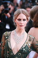 Poppy Delevingne at the gala screening for the film Carol at the 68th Cannes Film Festival, Sunday May 17th 2015, Cannes, France.