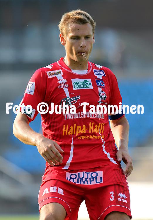 29.7.2012, Hiihtostadion, Lahti..Veikkausliiga 2012..FC Lahti - FF Jaro..Heikki Aho - Jaro