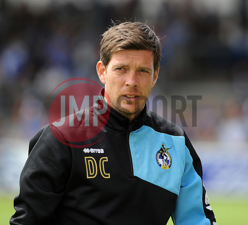 Bristol Rovers manager, Darrel Clarke - Photo mandatory by-line: Neil Brookman/JMP - Mobile: 07966 386802 - 18/07/2015 - SPORT - Football - Bristol - Memorial Stadium - Pre-Season Friendly