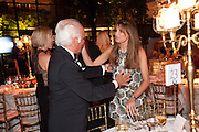 JOHN STEFANIDES; JEMIMA KHAN, Evgeny Lebedev and Graydon Carter hosted the Raisa Gorbachev charity Foundation Gala, Stud House, Hampton Court, London. 22 September 2011. <br /> <br />  , -DO NOT ARCHIVE-© Copyright Photograph by Dafydd Jones. 248 Clapham Rd. London SW9 0PZ. Tel 0207 820 0771. www.dafjones.com.