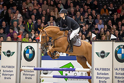 Dijkerman Michelle, NED, Kincsem<br /> KWPN hengstenkeuring - 's Hertogenbosch 2020<br /> © Hippo Foto - Dirk Caremans<br /> 30/01/2020