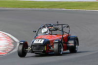 #41 Olly Bull Caterham Superlight R300-S during the BookaTrack.com Caterham Superlight R300 Championship at Oulton Park, Little Budworth, Cheshire, United Kingdom. August 13 2016. World Copyright Peter Taylor/PSP.
