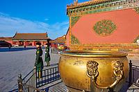 Chine, Pékin (Beijing), Cité Interdite, classée Patrimoine Mondial de l'UNESCO // China, Beijing, Forbidden City