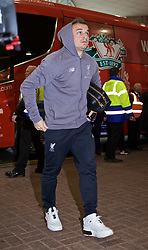NEWCASTLE-UPON-TYNE, ENGLAND - Saturday, May 4, 2019: Liverpool's Xherdan Shaqiri arrives ahead of the FA Premier League match between Newcastle United FC and Liverpool FC at St. James' Park. (Pic by David Rawcliffe/Propaganda)