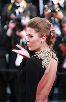Victoria Bonia at the the Mr. Turner gala screening red carpet at the 67th Cannes Film Festival France. Thursday 15th May 2014 in Cannes Film Festival, France.