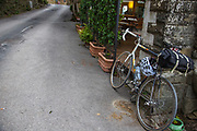 Bicycle, Volpaia, Italy, Tuscany, SP112, Castello di Volpaia
