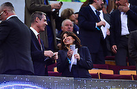 Anne HIDALGO - 21.04.2015 - Barcelone / Paris Saint Germain - 1/4Finale Retour Champions League<br />