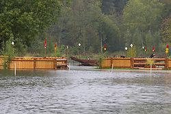 Floated fences at the 'Mondial du Lion 2012'<br /> Mondial du Lion 2012 - Le Lion d'Angers 2012<br /> © Dirk Caremans