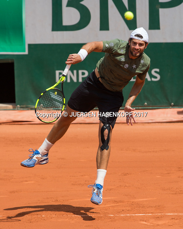 SIMONE BOLELLI (ITA)<br /> <br /> Tennis - French Open 2017 - Grand Slam ATP / WTA -  Roland Garros - Paris -  - France  - 31 May 2017.