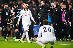 December 13, 2018 - Istanbul, Turkey - 181213 Ricardo Quaresma of Besiktas looks dejected while leaving the pitch after a red card during the Europa league match between Besiktas and MalmÅ¡ FF on December 13, 2018 in Istanbul..Photo: Petter Arvidson / BILDBYRN / kod PA / 92175 (Credit Image: © Petter Arvidson/Bildbyran via ZUMA Press)