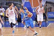 DESCRIZIONE : Qualificazioni EuroBasket 2015 Russia-Italia<br /> GIOCATORE : Andrea Cinciarini<br /> CATEGORIA : nazionale maschile senior A<br /> GARA : Qualificazioni EuroBasket 2015 - Russia-Italia<br /> DATA : 13/08/2014<br /> AUTORE : Agenzia Ciamillo-Castoria