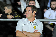 Burton Albion's Nigel Clough during the EFL Sky Bet Championship match between Burton Albion and Queens Park Rangers at the Pirelli Stadium, Burton upon Trent, England on 27 September 2016. Photo by Richard Holmes.