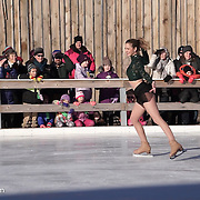 Erin Reed performs with Ice Dance International at Strawbery Banke, Portsmouth NH on Jan 14, 2017