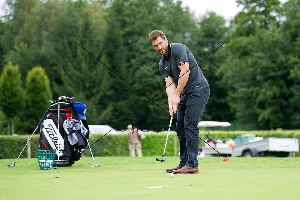 30.07.2014; Luterbach; Eishockey - Swiss Ice Hockey Golf Trophy 2014; Eric Walsky <br /> (Claudia Minder/freshfocus)