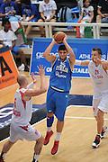 09082013 TRENTO - TRENTINO BASKET CUP - ITALIA POLONIA<br /> NELLA FOTO : GENTILE<br /> FOTO CIAMILLO