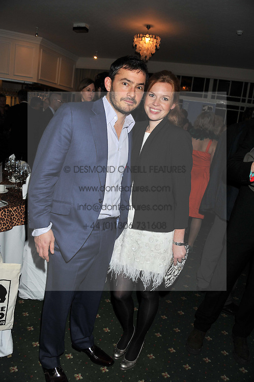 GILES & ESTHER COREN at a dinner in aid of the charity Save The Rhino held at ZSL London Zoo, Regents Park, London NW1 on 16th November 2011.