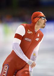 11-12-2015 NED: ISU World Cup, Heerenveen<br /> 500 meter men / Artur Was POL 4th in 34.80 on the 500m