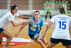 during hanball match between RK Krim Mercator and RK Lokomotiva Zagreb at 15th Vinko Kandija Memorial, on August 18, 2018 in Dvorana Kodeljevo, Ljubljana, Slovenia. Photo by Matic Klansek Velej / Sportida