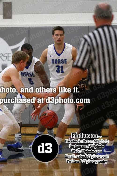 Luther College defeated the University of Wisconsin-La Crosse 67-58 in non-conference action at The Regents Center on the campus of Luther College in Deborah, Iowa, on November 28, 2016.