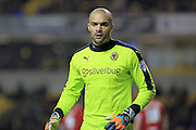 Carl Ikeme during the Sky Bet Championship match between Wolverhampton Wanderers and Bristol City at Molineux, Wolverhampton, England on 8 March 2016. Photo by Daniel Youngs.