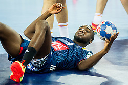 Luc Abalo (FRA) during handball match between National teams of France and Spain in Half Final match of Men's EHF EURO 2018, on January 26, 2018 in Arena Zagreb, Zagreb, Croatia. Photo by Ziga Zupan / Sportida