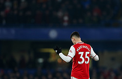Gabriel Martinelli of Arsenal moments before kick off - Mandatory by-line: Arron Gent/JMP - 21/01/2020 - FOOTBALL - Stamford Bridge - London, England - Chelsea v Arsenal - Premier League