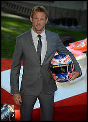 Rush - UK film premiere. <br /> British Formula One driver Jenson Button during the 'Rush' - UK film premiere, Odeon, London, United Kingdom. Monday, 2nd September 2013. Picture by Andrew Parsons / i-Images