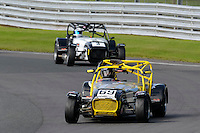 #69 Stephen Collins Caterham Superlight R300-S during the BookaTrack.com Caterham Superlight R300 Championship at Oulton Park, Little Budworth, Cheshire, United Kingdom. August 13 2016. World Copyright Peter Taylor/PSP.