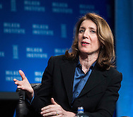 Ruth Porat, Executive Vice President and Chief Financial Officer, Morgan Stanley, in a panel during the Milken Institute Global Conference on Monday, April 28, 2014 in Beverly Hills, California. (Photo by Ringo Chiu/PHOTOFORMULA.com)