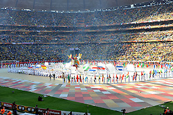JOHANNESBURG, SOUTH AFRICA - Friday, June 11, 2010: The opening ceremony during the opening Group A match between South Africa and Mexico during the 2010 FIFA World Cup South Africa at the Soccer City Stadium. (Pic by Hoch Zwei/Propaganda)