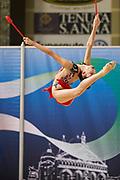 Laura Paris from Moderna Legnano team during the Italian Rhythmic Gymnastics Championship in Padova, 25 November 2017.