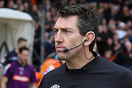 Picture by David Horn/Focus Images Ltd +44 7545 970036.16/02/2013.Referee L. Probert before the tie between Luton Town and Millwall in the The FA Cup match at Kenilworth Road, Luton.