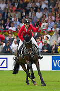 Janne Friederike Meyer - Cellagon Lambrasco<br /> World Equestrian Festival, CHIO Aachen 2012<br /> © DigiShots
