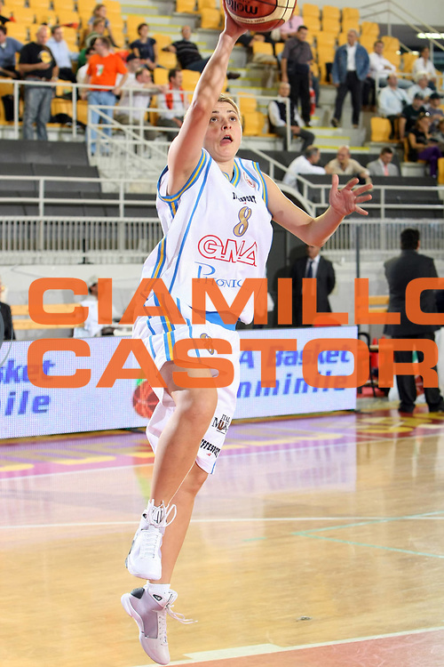 DESCRIZIONE : Roma Lega A1 Femminile 2008-09 Prima giornata Campionato GMA Phonica Pozzuoli Famila Wuber Schio <br /> GIOCATORE : Natasa Andjelic<br /> SQUADRA : GMA Phonica Pozzuoli <br /> EVENTO : Campionato Lega A1 Femminile 2008-2009 <br /> GARA : GMA Phonica Pozzuoli Famila Wuber Schio <br /> DATA : 11/10/2008 <br /> CATEGORIA : Tiro<br /> SPORT : Pallacanestro <br /> AUTORE : Agenzia Ciamillo-Castoria/C.De Massis